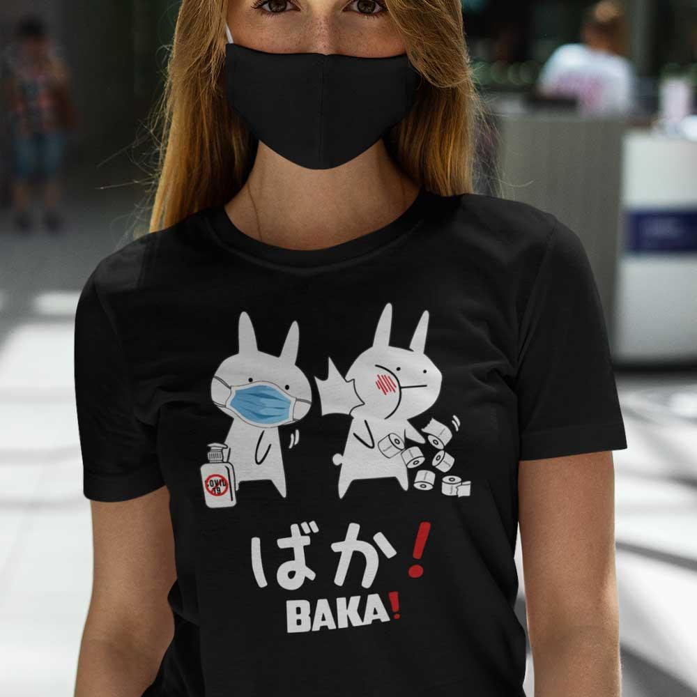 Baka Rabbit Slap Mask Covid-19 T Shirt