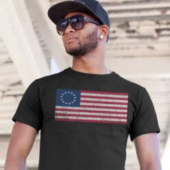 Betsy Ross Flag T Shirt