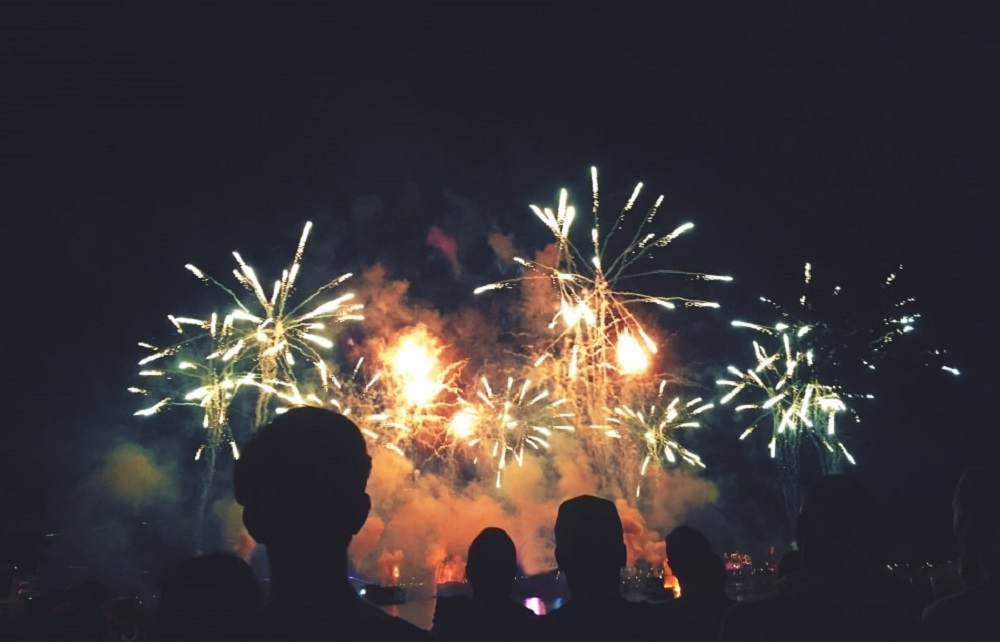 Estes Park - where to watch fireworks on Independence Day