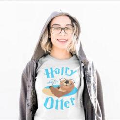 Funny Hairy Otter Shirt