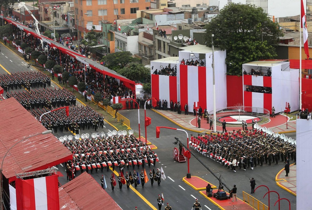 How Independence Day celebrated in Peru and what is its history
