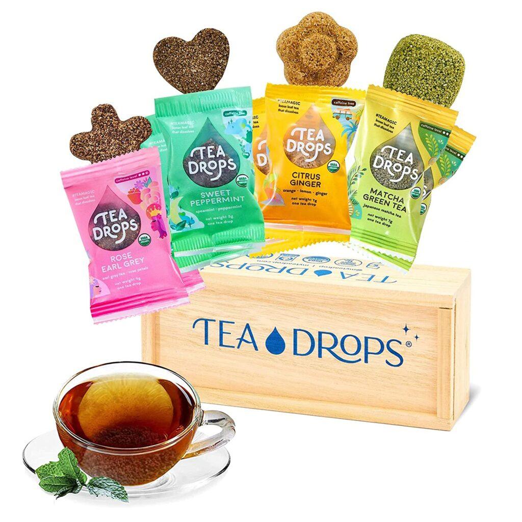 Sweetened Organic Loose Leaf Tea Box
