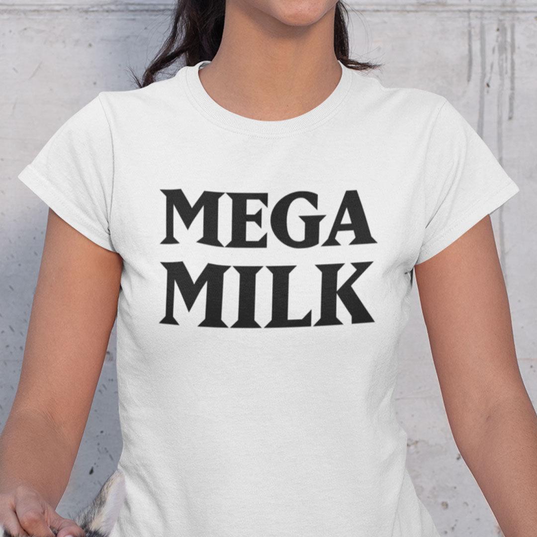 Official Mega Milk Shirt Meme