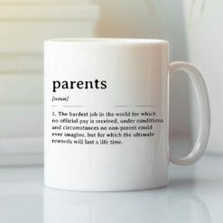 Parents Mug Parents Definition