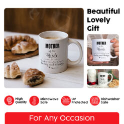 Personalized Mother of the Bride Thank You Mug