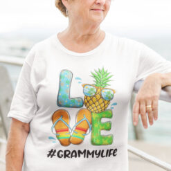 Pineapple Love Grammylife Hello Summer Shirt