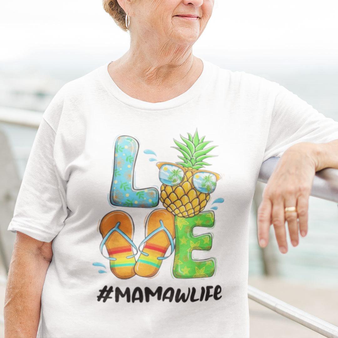 Pineapple Love Mamawlife Hello Summer Shirt