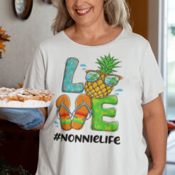 Pineapple Love Nonnielife Hello Summer Shirt