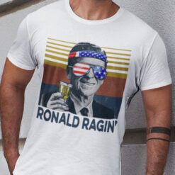 Ronald Ragin 4th Of July Shirt US Flag Independence Day