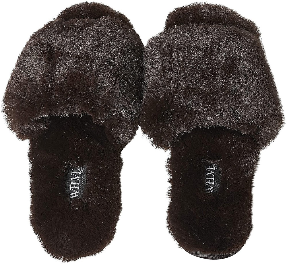 So Good Fluffy Slippers- great birthday gifts for parents