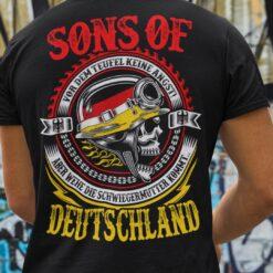 Sons Of Deutschland Shirt Vor Dem Teufel Keine Angst