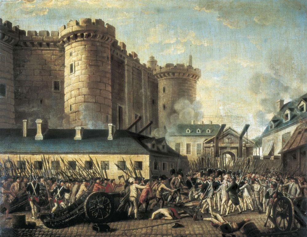 Bastille prison - how Independence Day celebrate in France