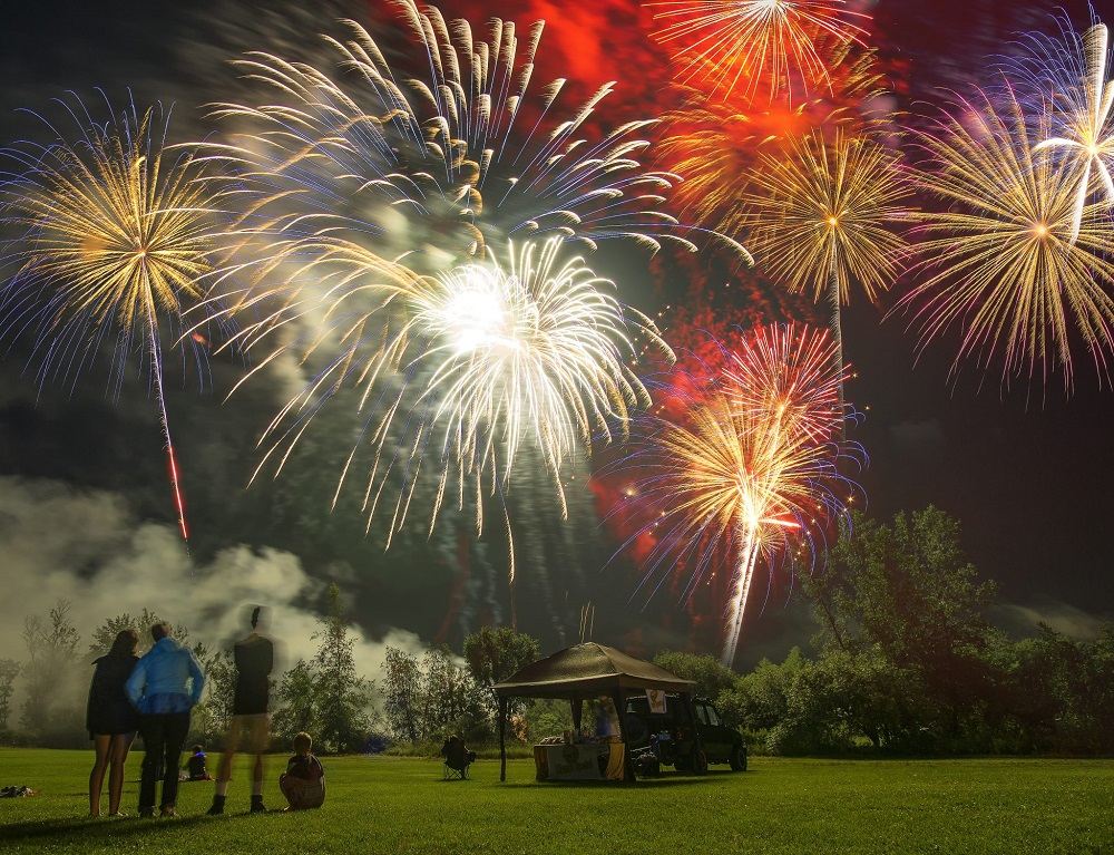 Stowe - where to watch 4th of July fireworks
