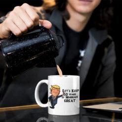 Trump Keep 50 Years Of Marriage Great 50th Anniversary Mug