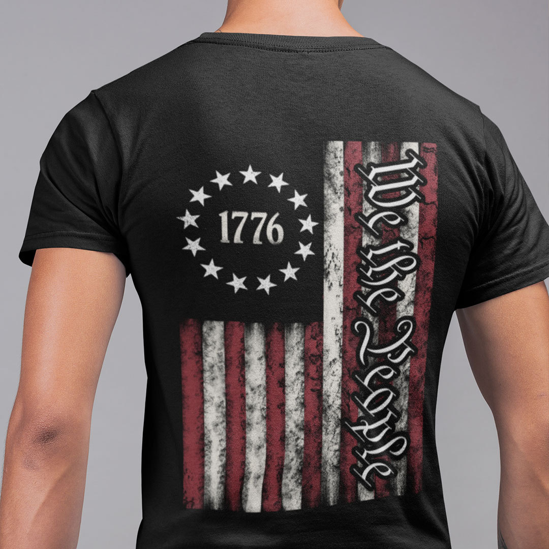 We The People T Shirt Independence Day 4th July Tee