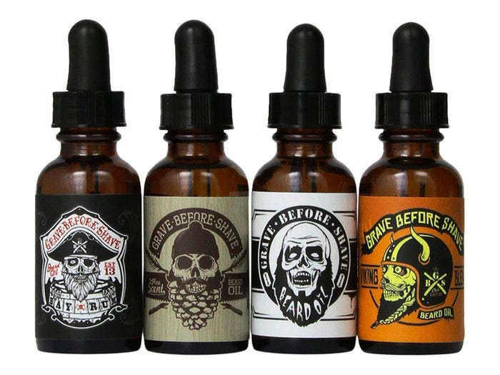 beard oils practical fathers day gifts