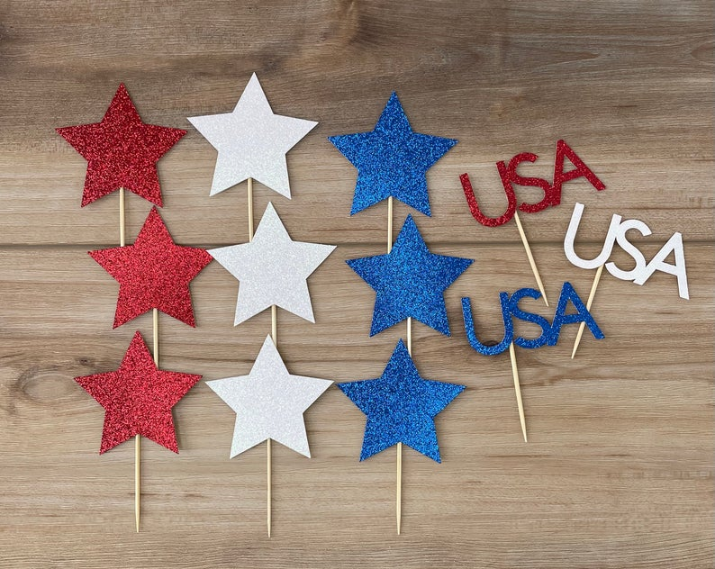cupcake toppers best Independence Day gift for son