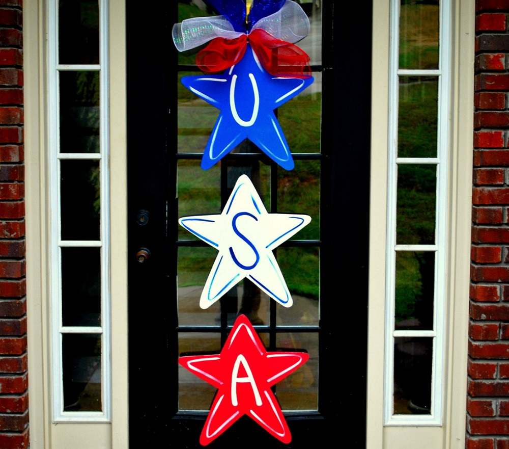 door decorations for the 4th of July