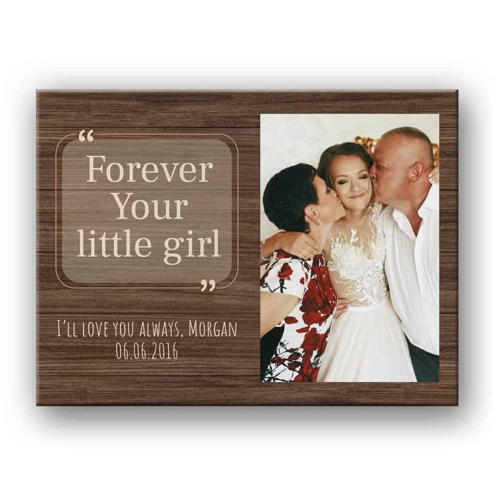 """Forever Your Little Girl"" Photo Print"