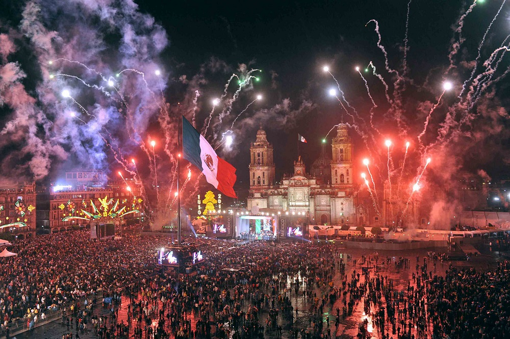 how Independence Day celebrate in Mexico