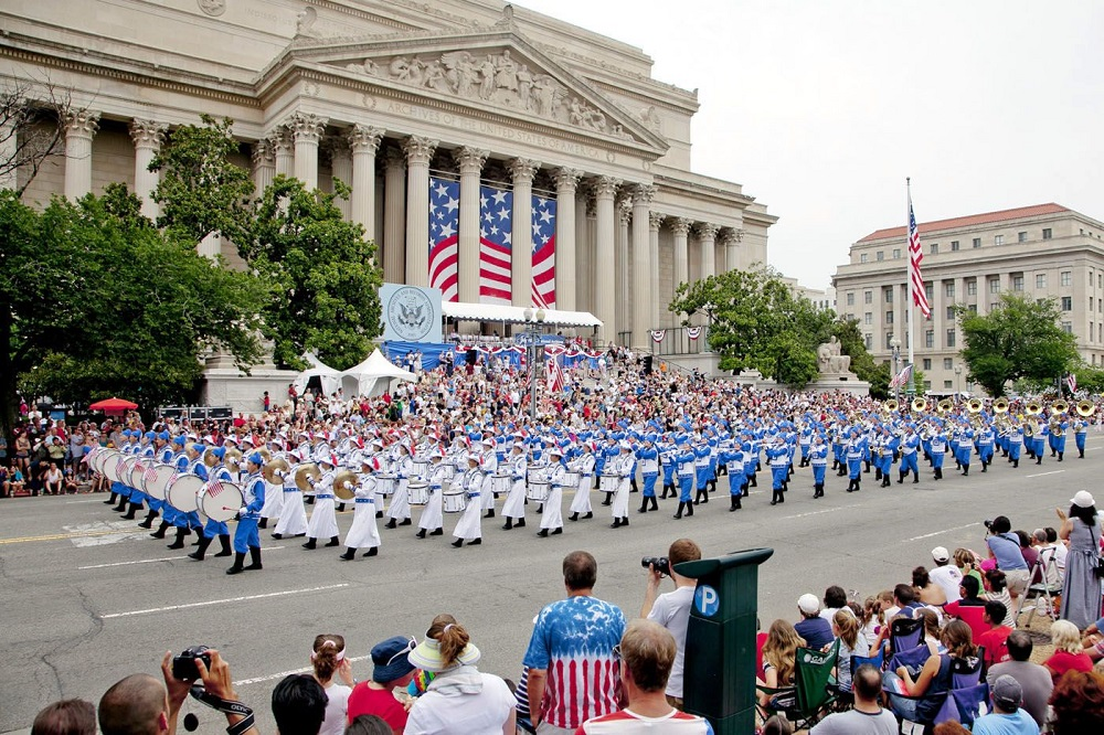 parade - how old is America on 4th of July 2021