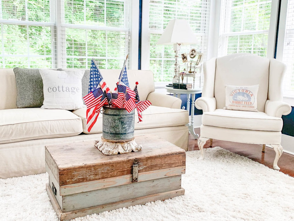 how to decorate the house on the 4th of July
