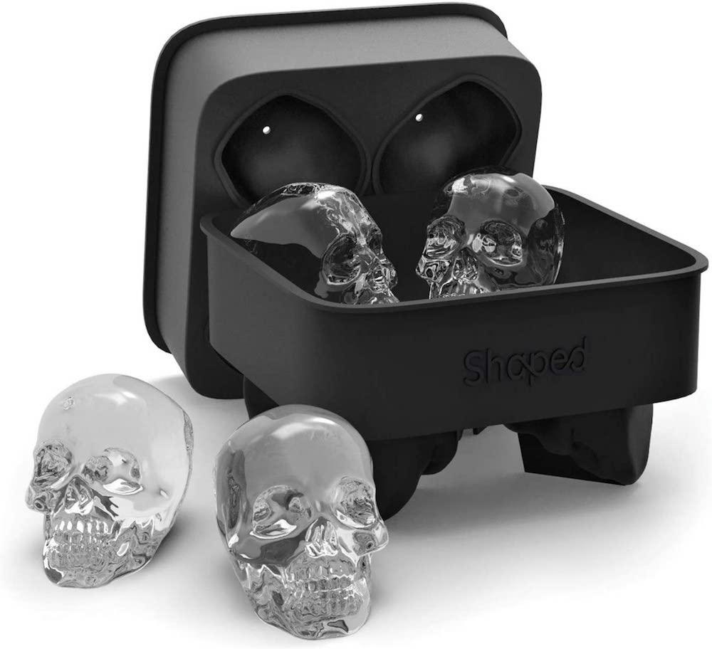 3D Skull Ice Cube Mold- best Halloween gift 2021.