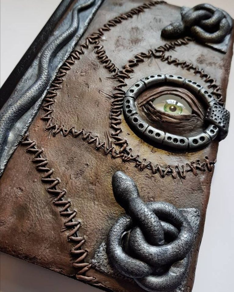 Book of Shadows Journal Halloween gift for grandpa