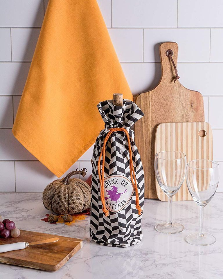 'Drink Up Witches' Wine Gift Bag- best Halloween gift 2021