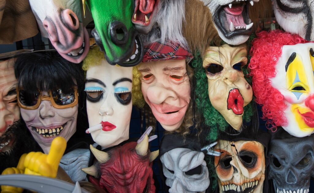 Fear of masks/costumes - Halloween-themed Phobias