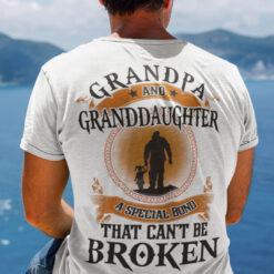 Grandpa And Granddaughter Shirt A Special Bond