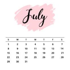 July Birthday Gift