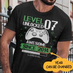 Level Unlocked 7 Shirt
