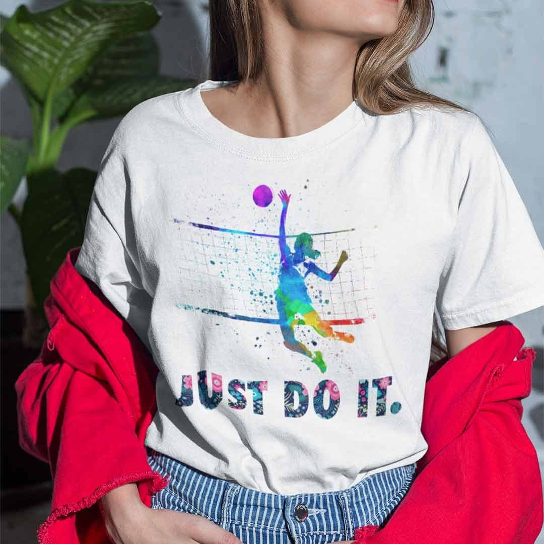 Official Just Do It Volleyball Shirt