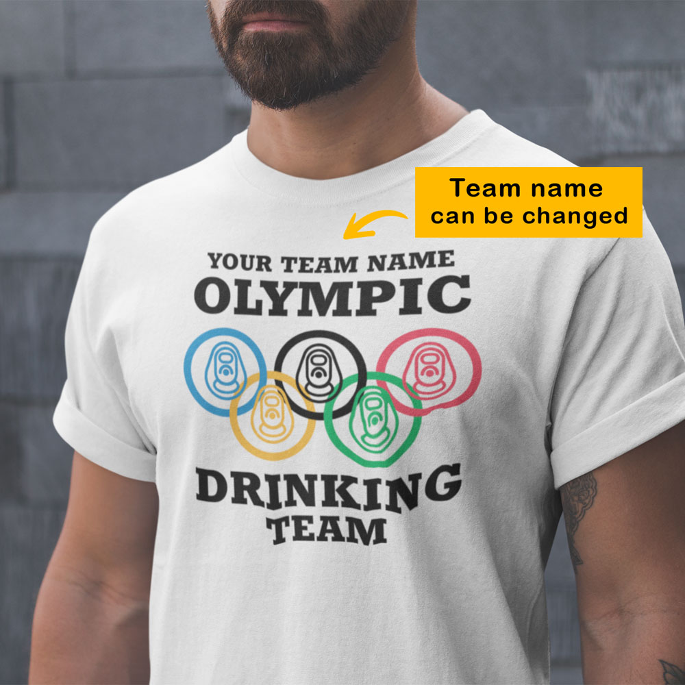 Olympic Drinking Team Personalized Shirt