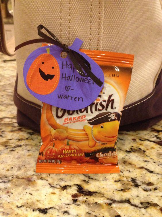 Orange Snacks - DIY Halloween Gifts