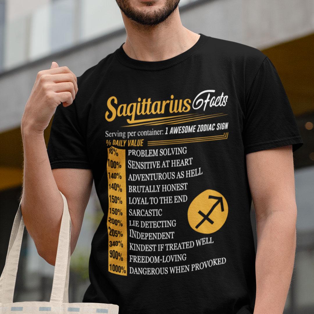 Sagittarius Shirt Sagittarius Facts 1 Awesome Zodiac Sign