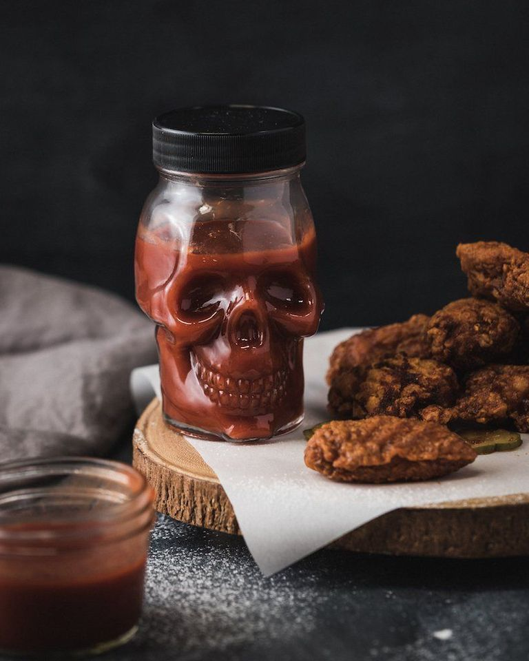 Skull Jar Hot Sauce