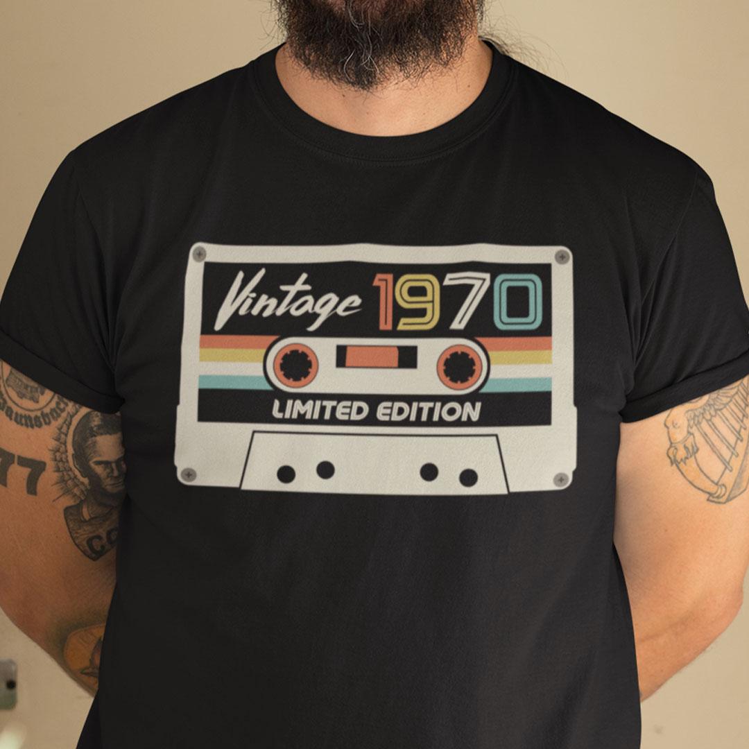Vintage 1970 T Shirt Vintage 1970 Limited Edition