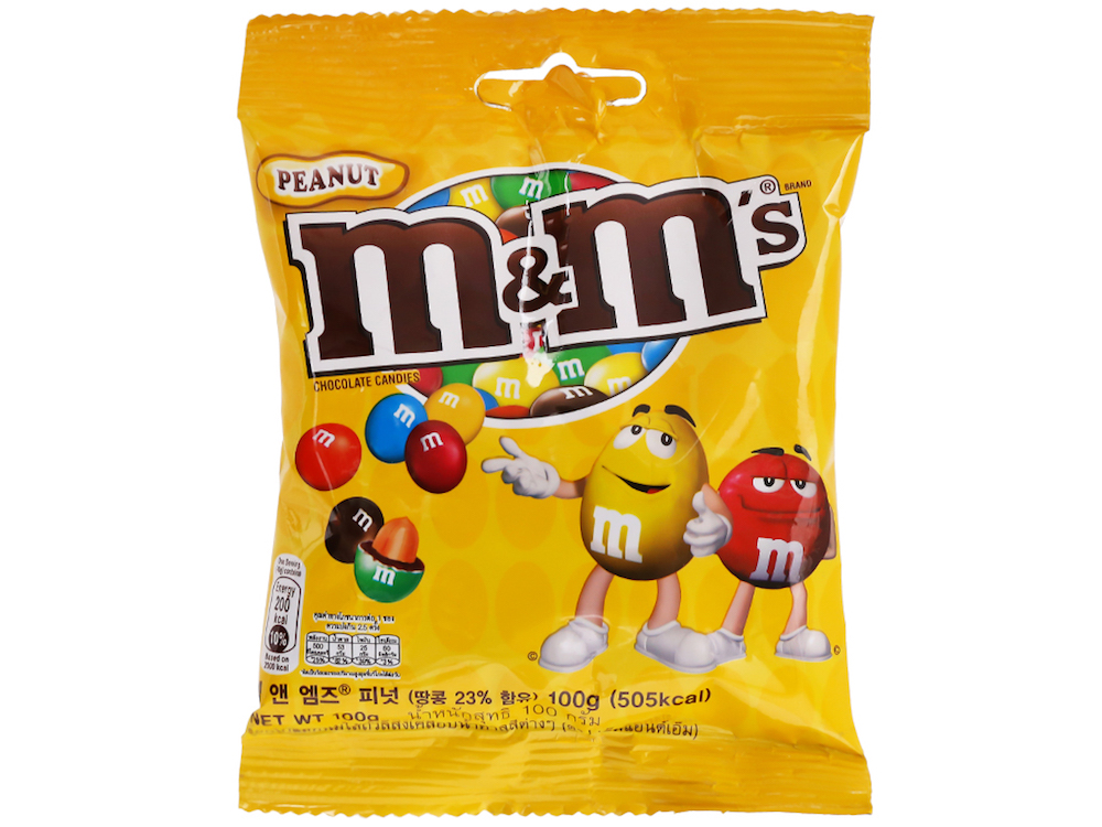 What is the most popular Halloween candy- M&M'S