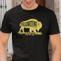 Yellowstone National Park T Shirt Mammoth