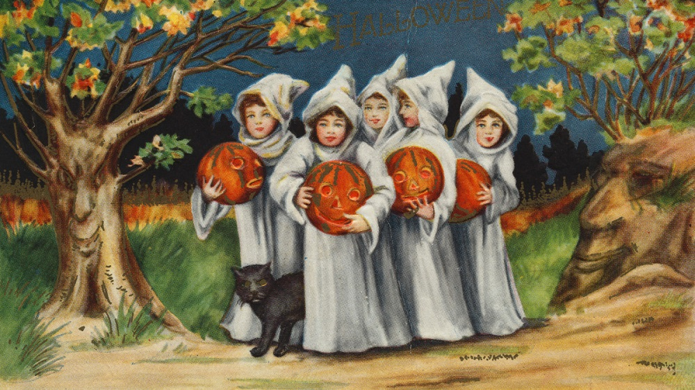 the history of Halloween Day
