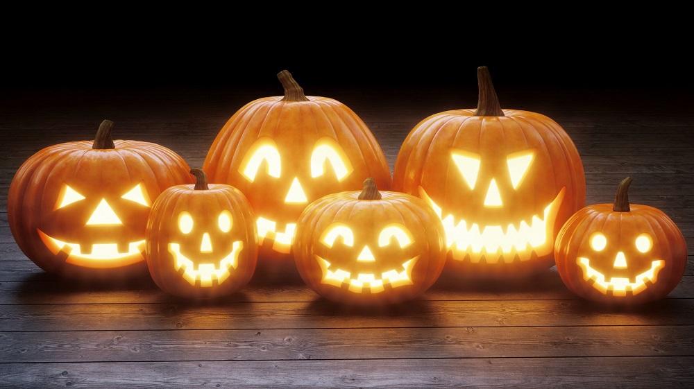 Use pumpkin on Halloween