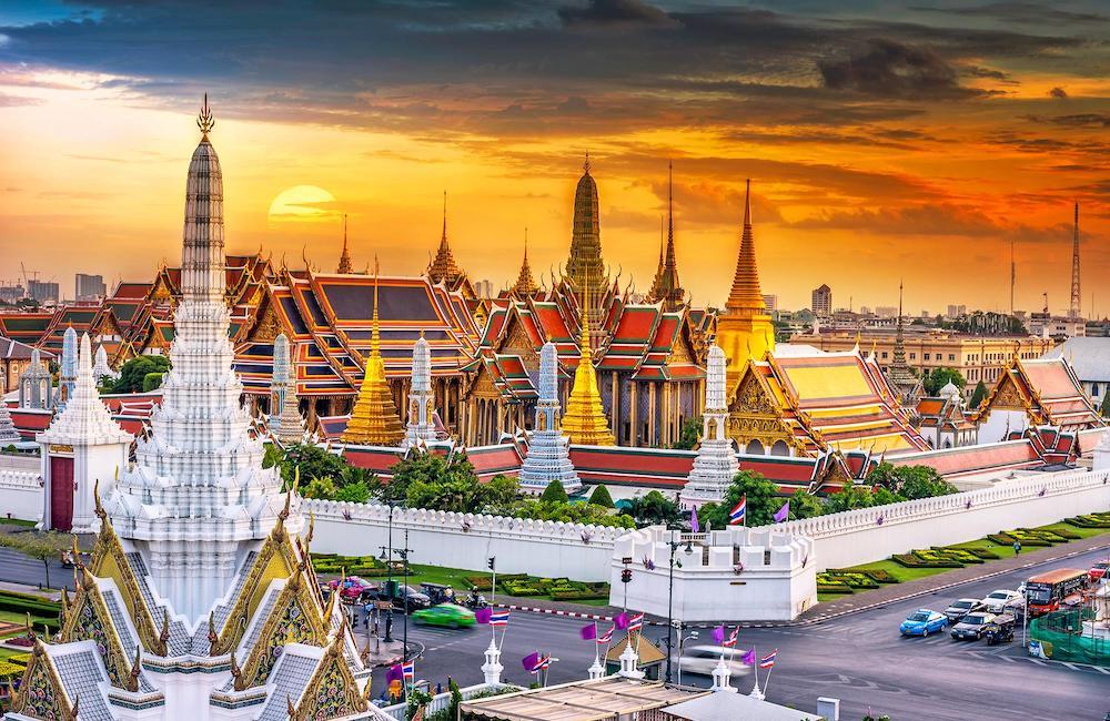 Bangkok, Thailand- cheap Thanksgiving vacations