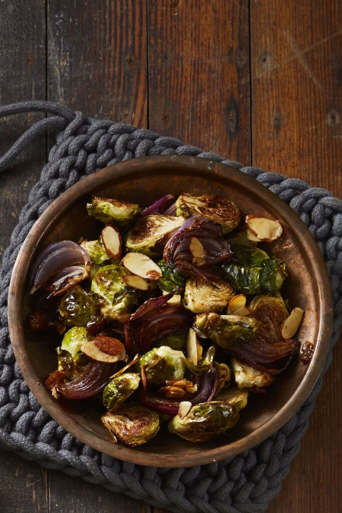 Brown-Butter Brussels Sprouts- cool food ideas for Thanksgiving