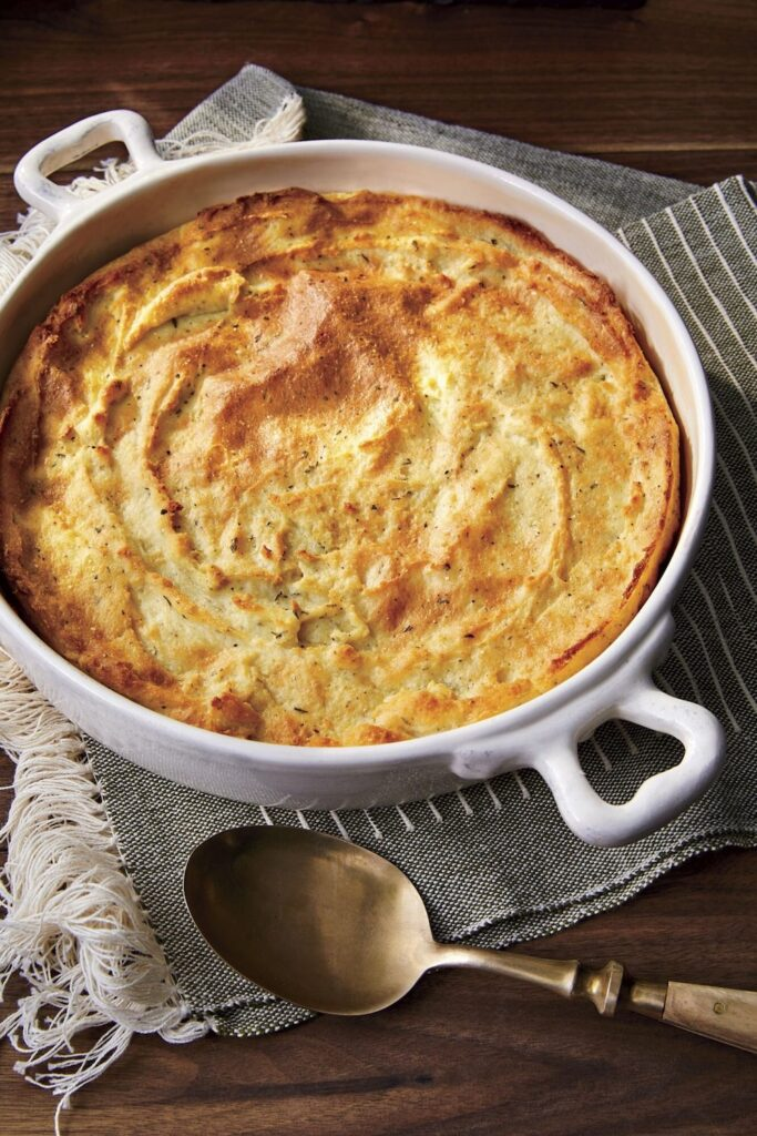 Buttermilk Spoon Bread- cool food ideas for Thanksgiving