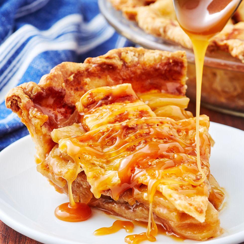Caramel Apple Pie- cool Thanksgiving desserts