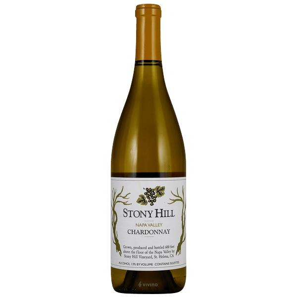 Chardonnay- Stony Hill- best type of wine for Thanksgiving dinner