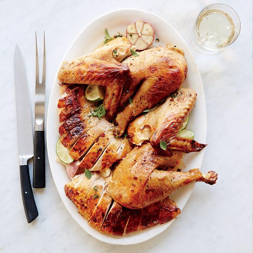 Chipotle-Butter Turkey- best roast turkey recipe for Thanksgiving