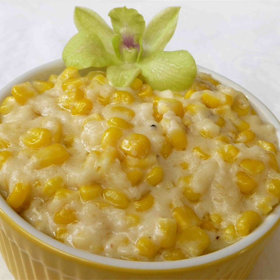 Cream Corn Like No Other- corn dishes for Thanksgiving